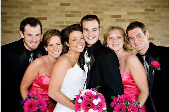 BROTHER BRENT, SISTER-IN-LAW JEN, SISTER-IN-LAW SANDY, BROTHER MATT, SISTER STEPHANIE, AND ME. 2009.