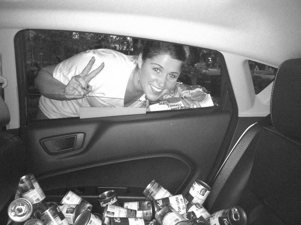 FILLING CARS WITH SOUP CANS, 2010