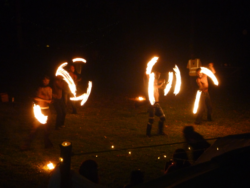LOCAL FIRE DANCERS @ NANCY AND IVANS WEDDING