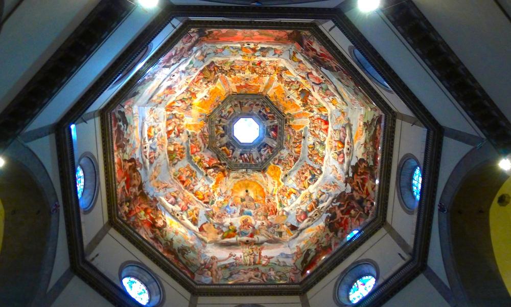The Duomo Florence italy inside.JPG