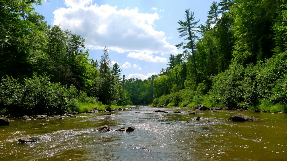 Ontonagon River, Michigan.