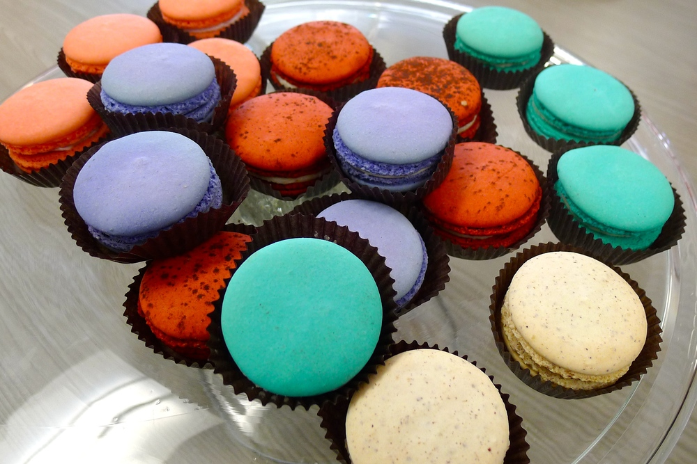 Macaroons (my favorite) from Vanille Pastisseries in Chicago, Illinois.