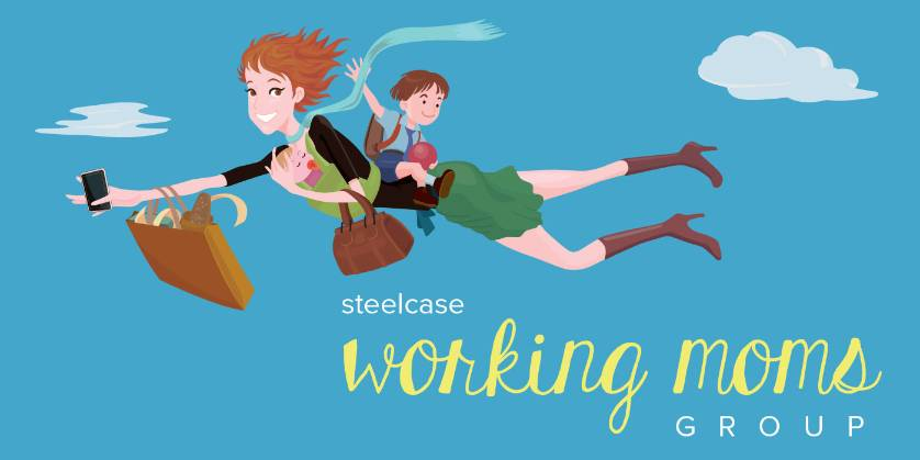 Graphic ripped off from the Steelcase Working Moms Group on our internal network. Fancy!