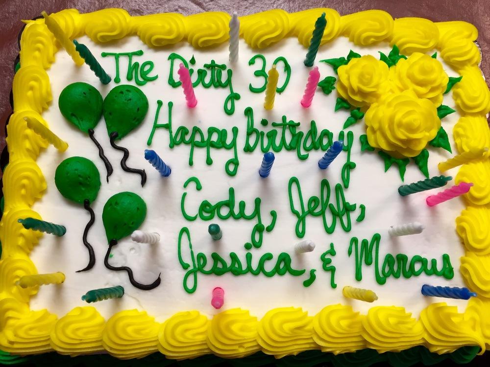 Happy 30th Birthday Jeff Friends Mid City Love