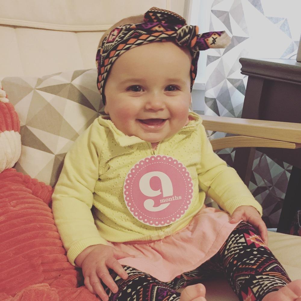 Natalie Elyse, 9-months-old.