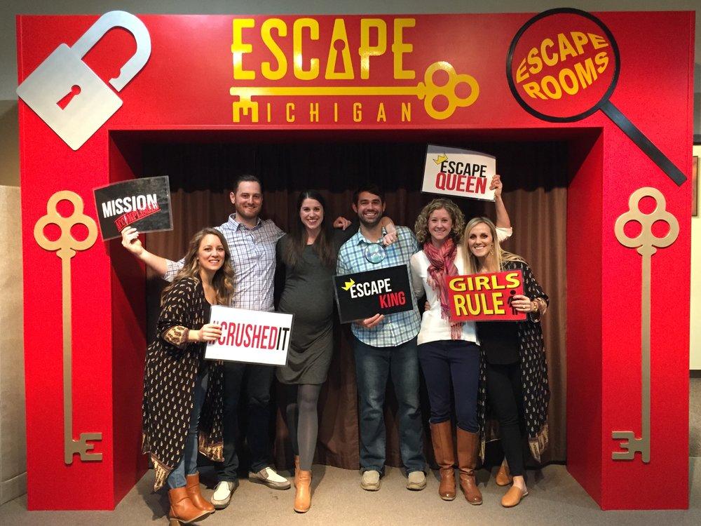 Escape Michigan.