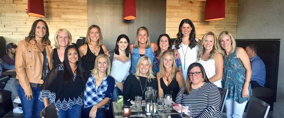 All the pretty ladies celebrating Amber's birthday last weekend at Wheelhouse.