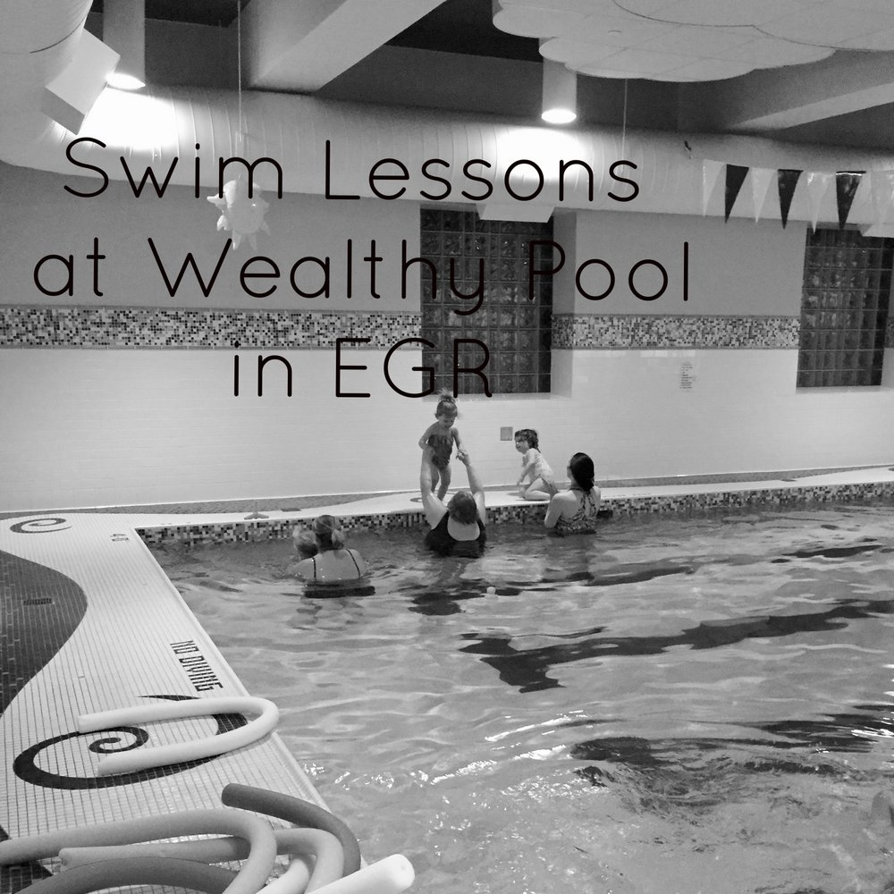 Swim Lessons at Wealthy Pool