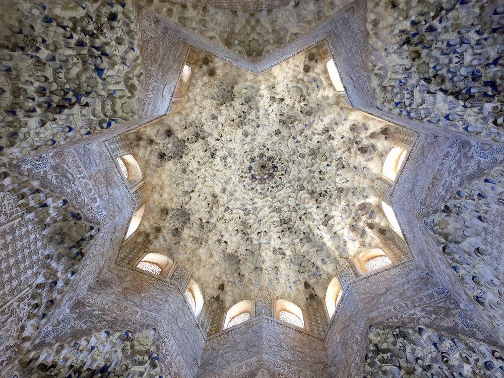 Granada Spain Palace Ceiling.jpg