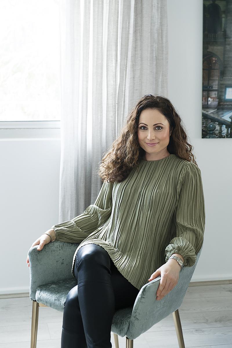 Owner of Window Studio, Adele Britt Fudlovski