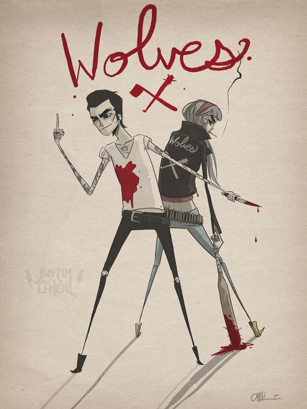 "<center><font size=""5"">Wolves</font></center>"