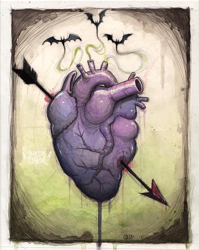"""<center><font size=""""5"""">my bat lightning heart</font></center>"""