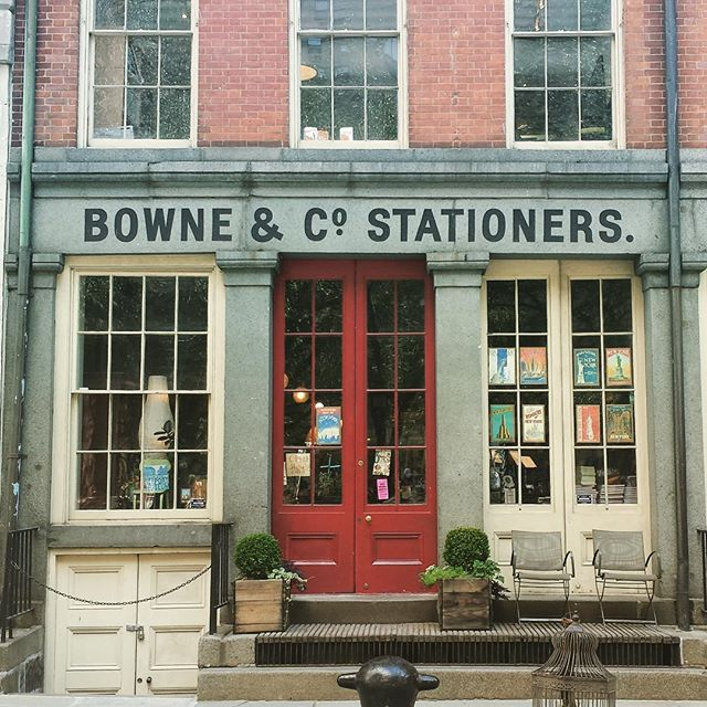 A fellow letterpress shop! ❤️ Check it out if you're in lower Manhattan - it's part of the South Street Seaport Museum.