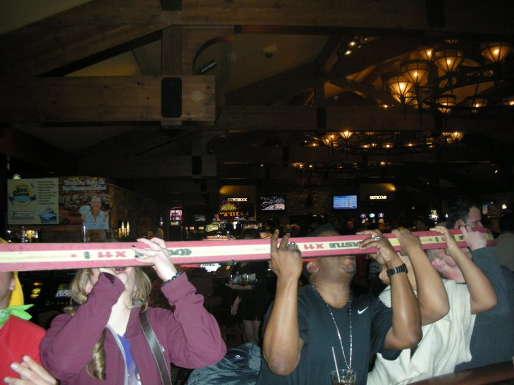 Shot-Ski with Craig Robinson.