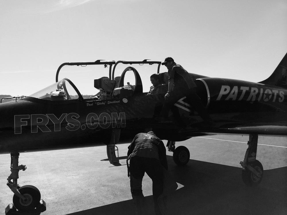 "Pilot: Troy ""Curley"" Myers, Crew Cheif: Scott ""Kobro"" Ehlert."