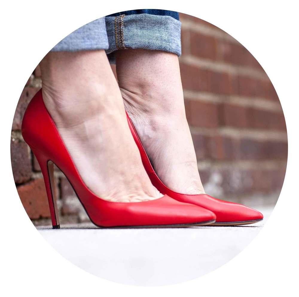 Jean-Michel Cazabat Red Stilettos