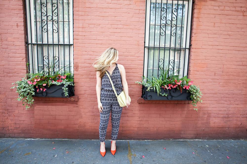 LOFT, jumpsuit, summer, summer style, fashion blogger, style blogger