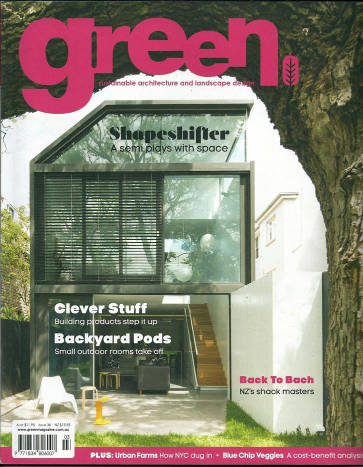 Green Magazine, March 2014
