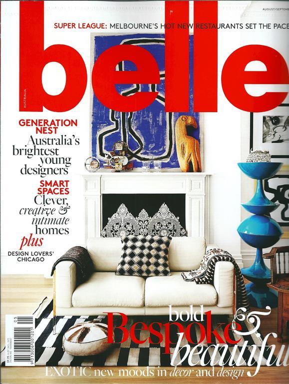 Belle Magazine, August 2014