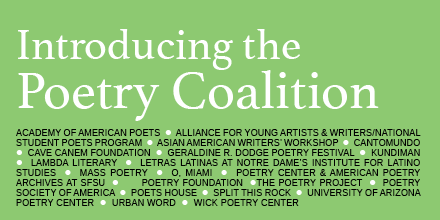 Learn more about the Poetry Coalition