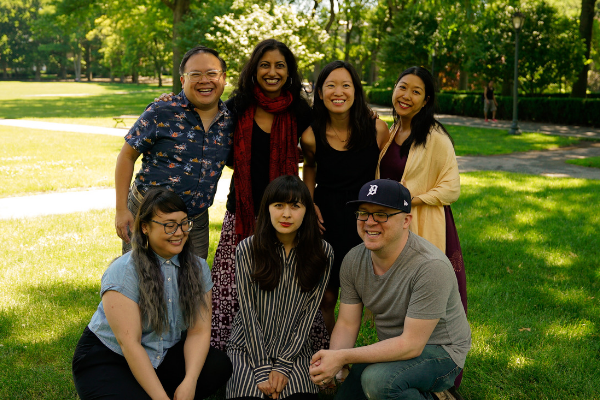 Kundiman Fiction and Poetry Fellows at the 2018 Annual Retreat.