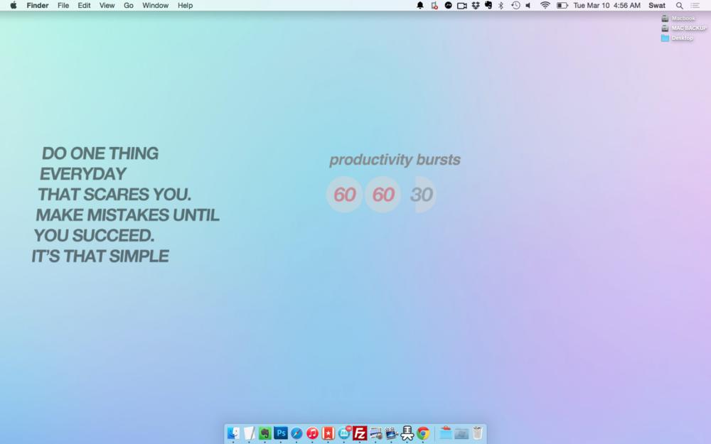 My desktop background.