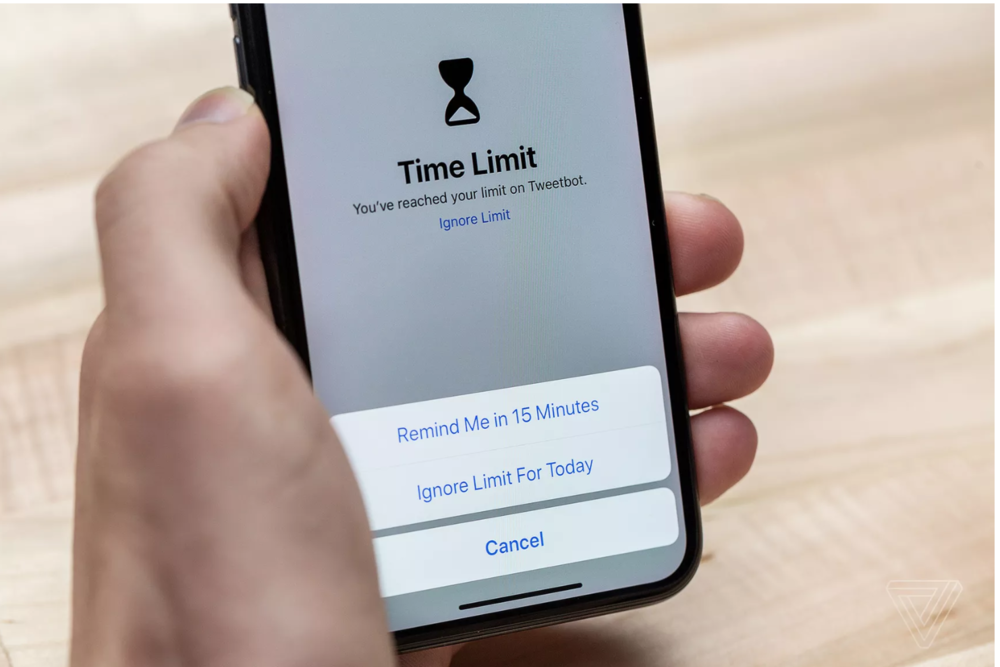 iOS 12 offers tools to block apps. A sign of where the future is going.