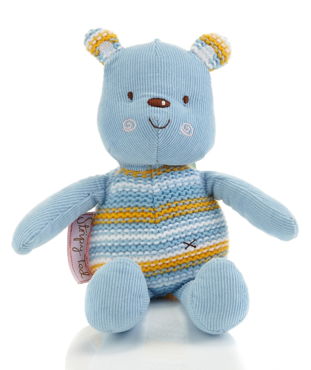 Emily Button™ Stripy Ted Soft Toy