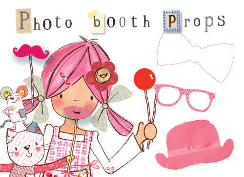Photo Booth Props - Download the pdf (940kb)