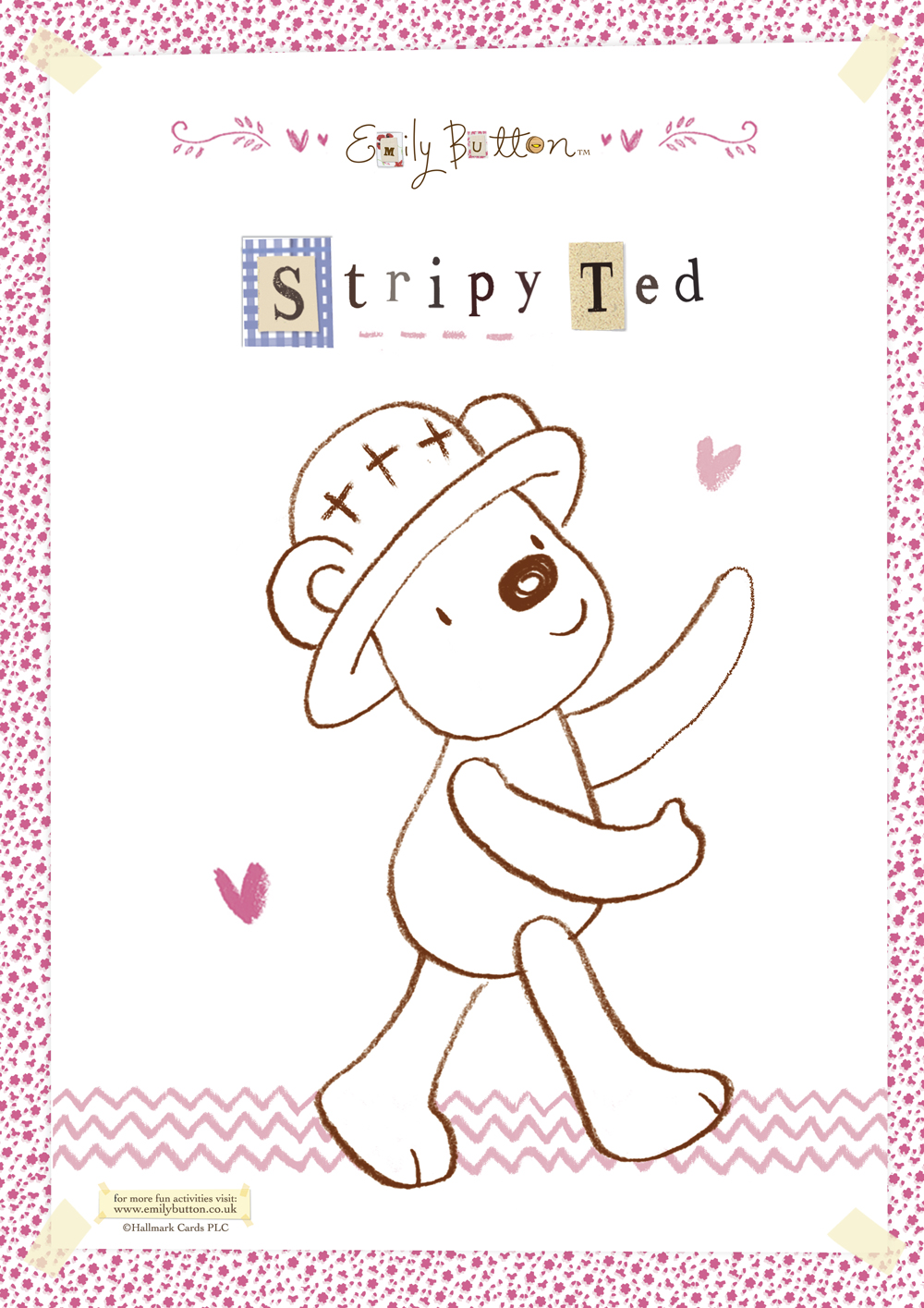 Stripy Ted Download the pdf (596kb)