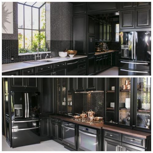 Matte Black Kitchen Door Handles