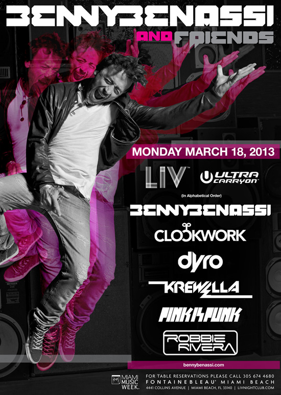 Line Up:   Clockwork  Dyro  Krewella  Pink Is Punk  Robbie Rivera