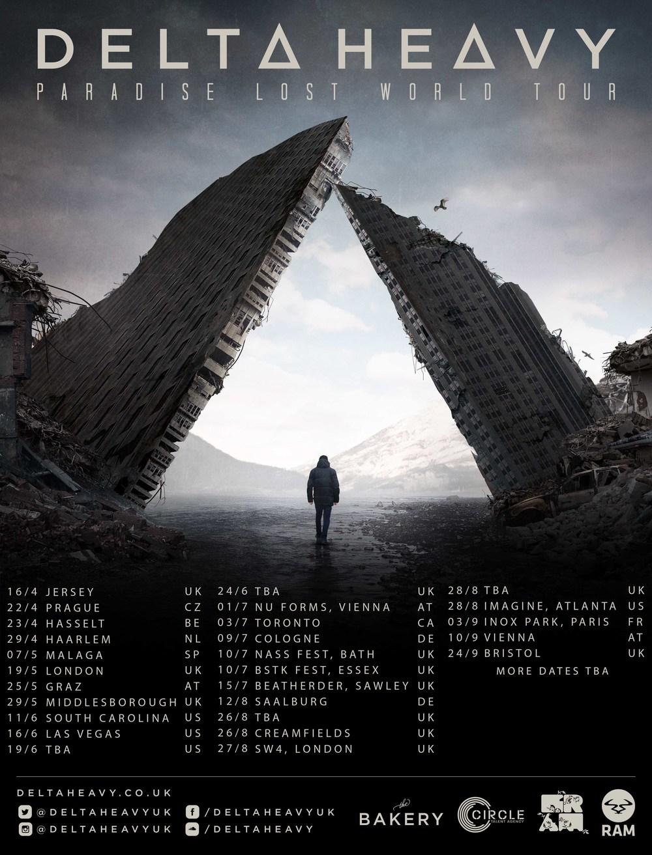 DH second wave tour dates