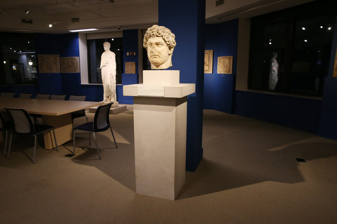 The Fordham Museum of Greek, Etruscan and Roman Art, in the William D. Walsh Family Library, is a result of the largest gift of art in Fordham University's history. Michelle V. Agins/The New York Times