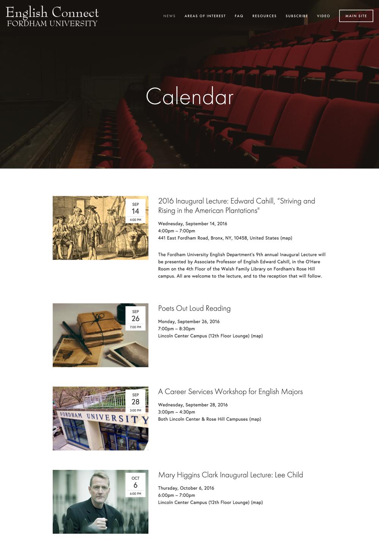 http://fordhamenglish.com/calendar/