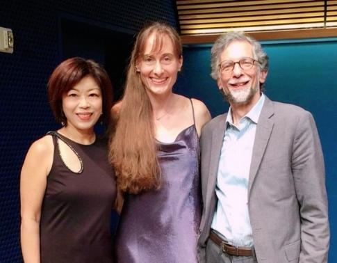 Lin and Schaer with Professor Kramer