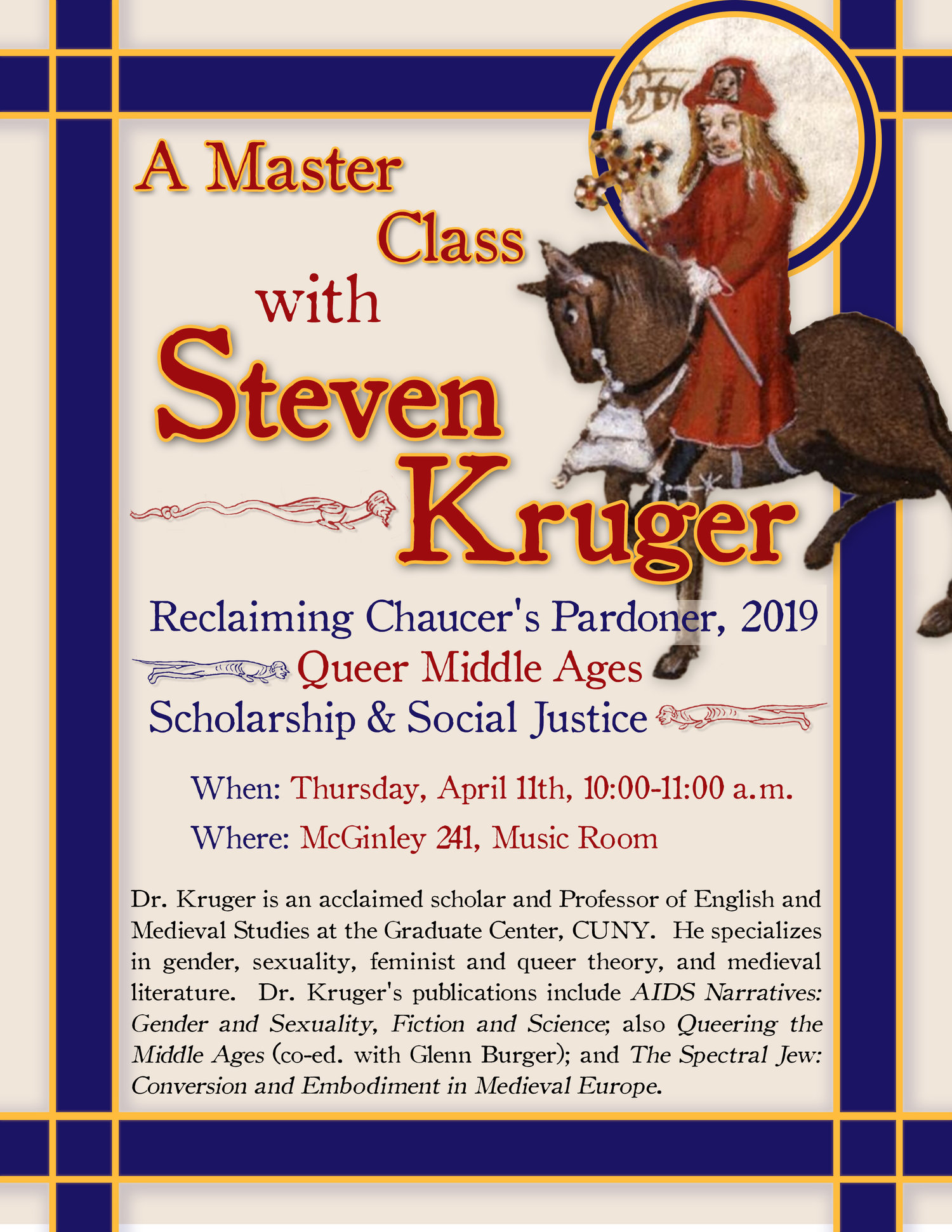 master class on the queer middle ages and research for social justice fordham english news