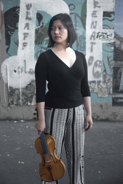 Winnie Huang, violon