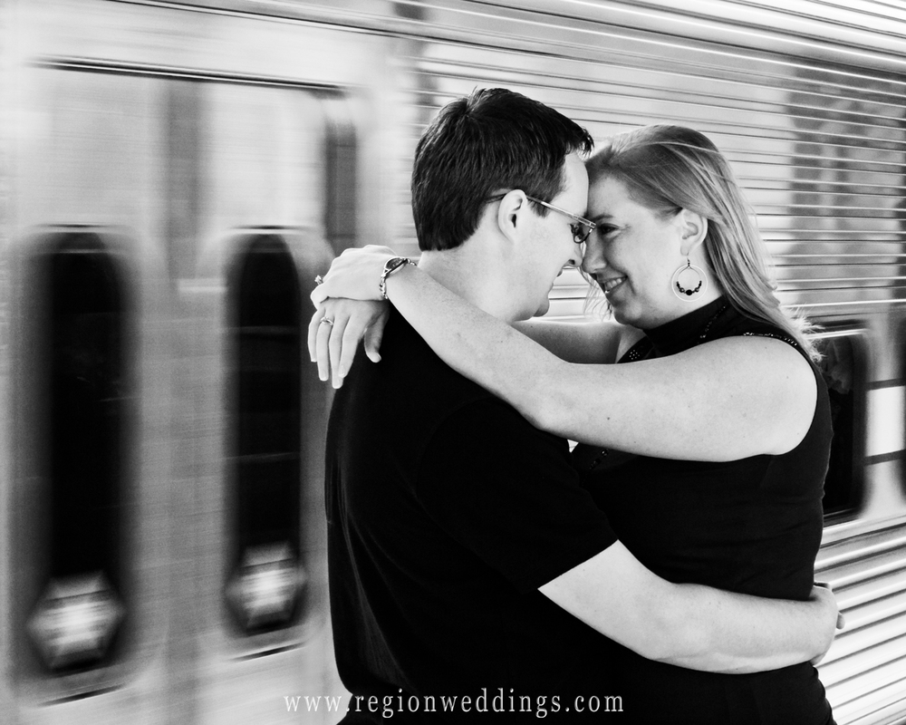Getting Romantic at the South Shore Train
