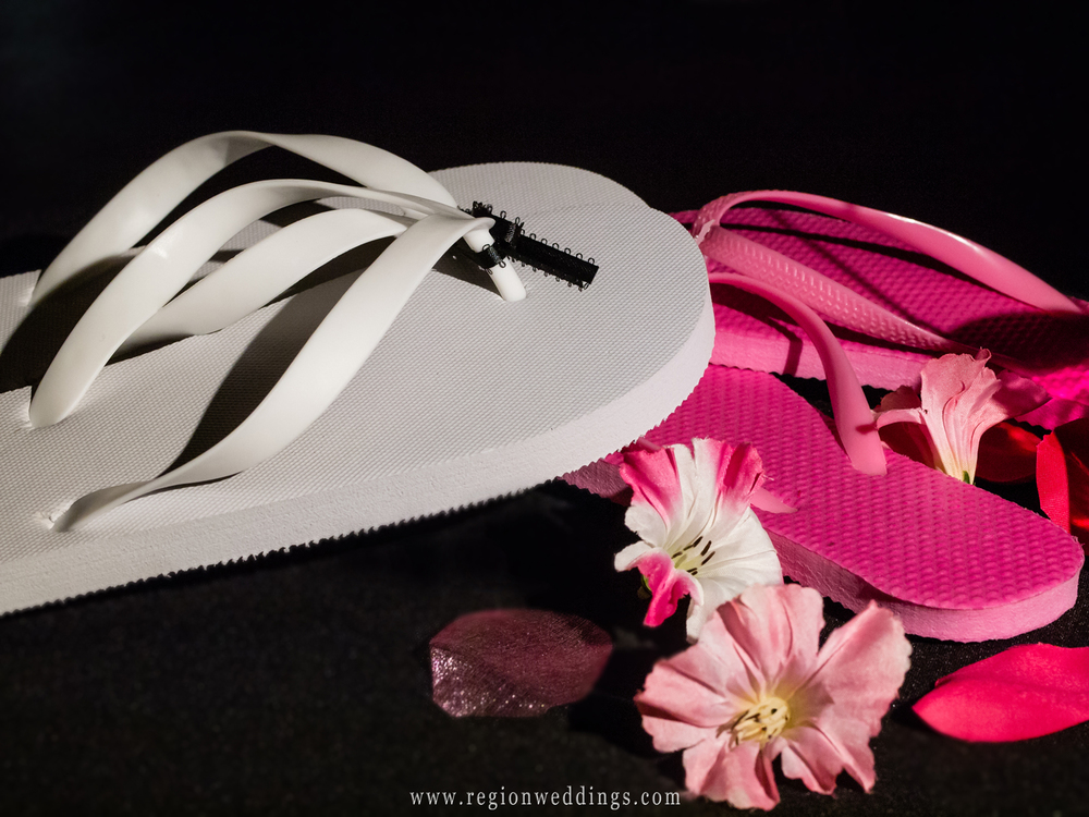Summer sandals for wedding guest to dance in at the reception.
