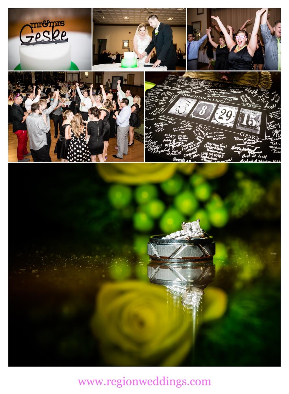Wedding reception at The Croatian Center.