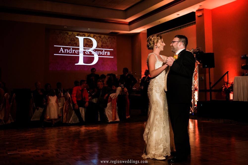 First dance for the bride at groom in Celebrity Ballroom West.
