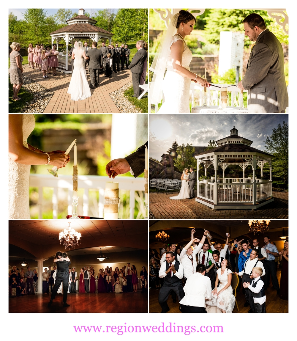 Weddings At Trinity Banquet Hall in Chesterton, Indiana.