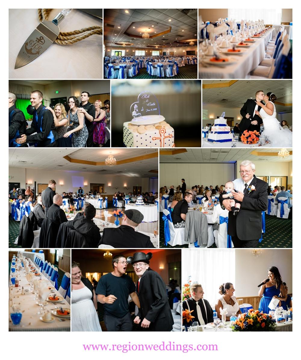 Summer wedding at the patrician banquet center region weddings - Patician room ...