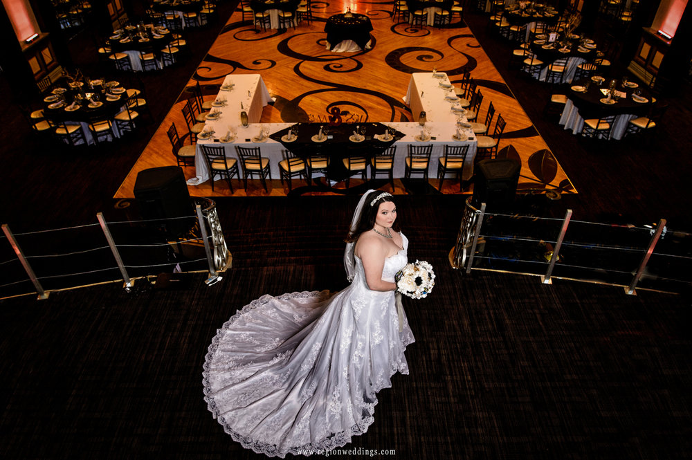 Queen of the ballroom.