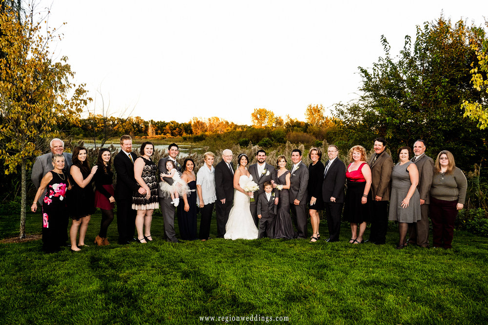 Family wedding photo.