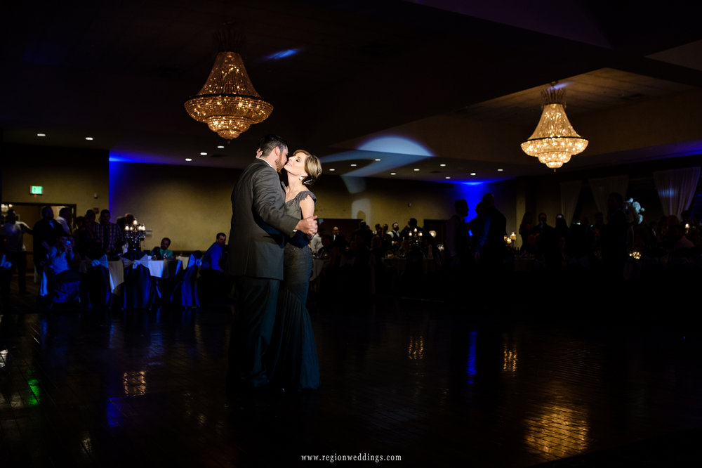 Mother and son first dance at Avalon Manor.