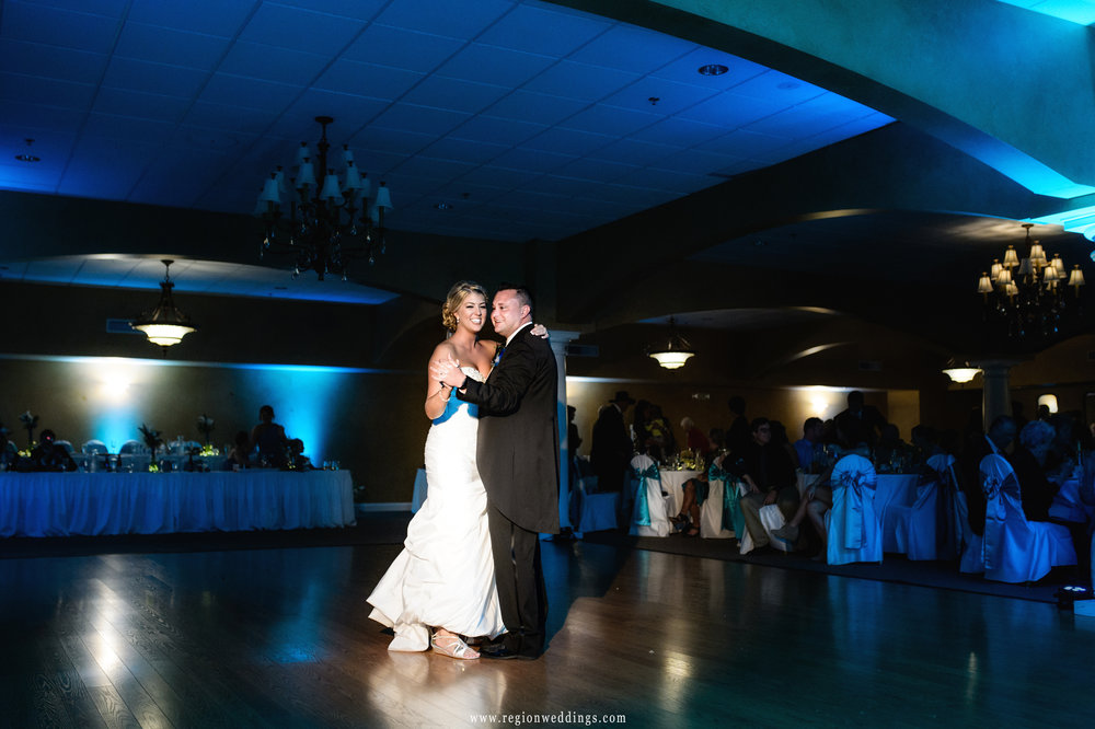 First dance at Trinity Hall in Chesterton, Indiana.
