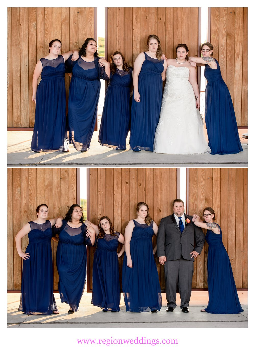 Recreating of the Bridesmaids movie poster.