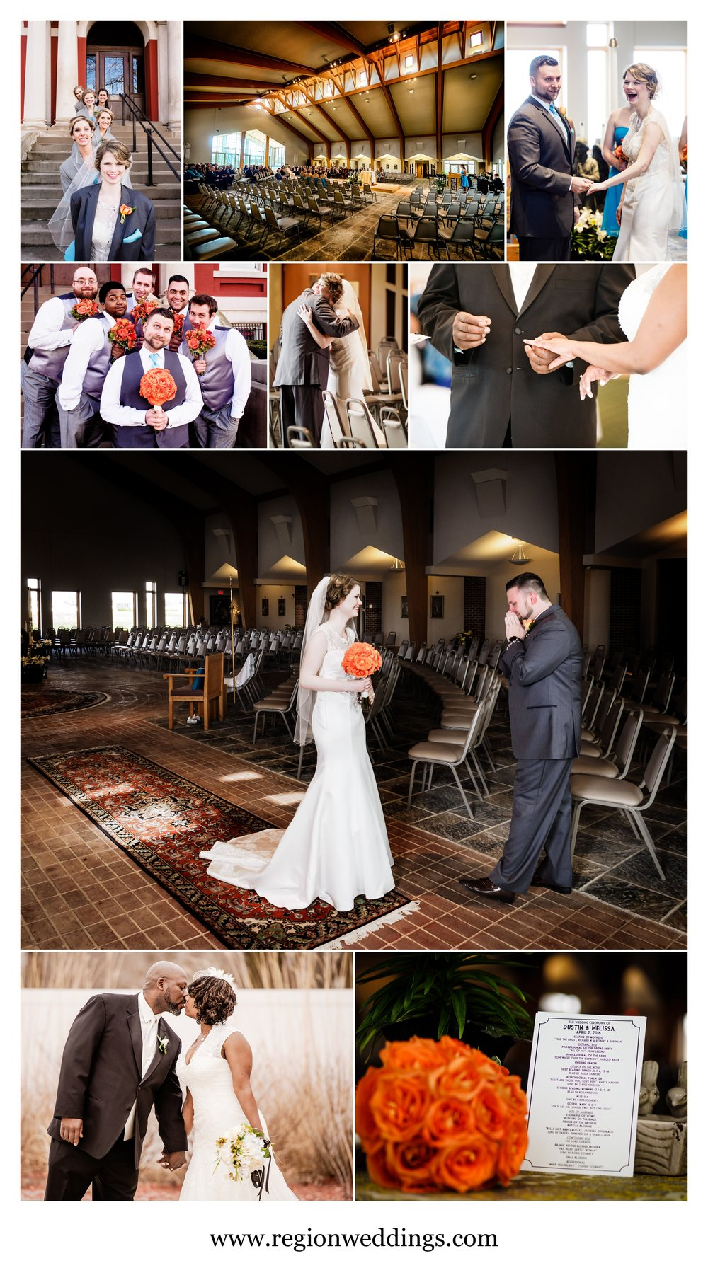 Spring wedding photos in Northwest Indiana in 2016.